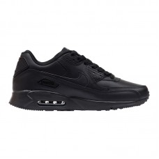 Кроссовки Nike Air Max 90 Leather Black арт 2126-1