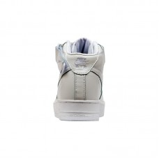 Кроссовки Nike Air Force 1 Mid '07 White Leather арт 5001-1