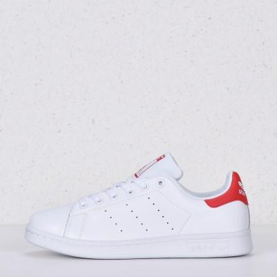 Кроссовки Adidas Stan Smith White Red M20326 арт 5012-6