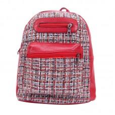 Рюкзак женский красный р-р 27х34х10 арт RM-10
