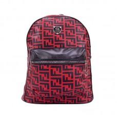 Рюкзак женский красный р-р 26х35х11 арт RM-7