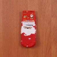 Носки теплые С Рождеством (размер 15-17) арт b225-5