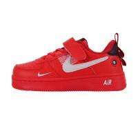 Кроссовки детские Nike Air Force 1 Red арт d666-3