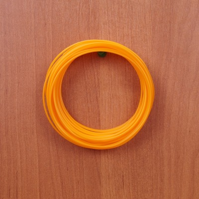 Пластик для 3D ручки оранжевый арт. plast-9